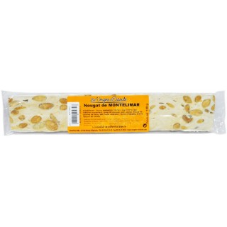 Barre de nougat nature 100g